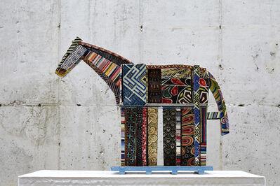 Sang Ho Shin, 'Minhwa horse', 2013
