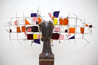 Manolo Valdés, 'Cabeza Bronze y Resina', 2018