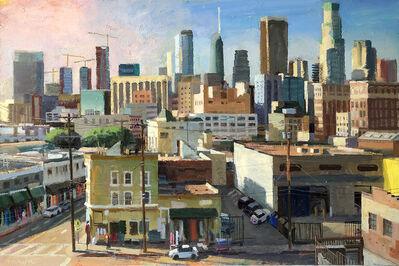 Alex Schaefer, 'LA Skyline from San Julian', 2019