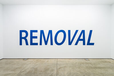 Kay Rosen, 'Removal From Office', 2008