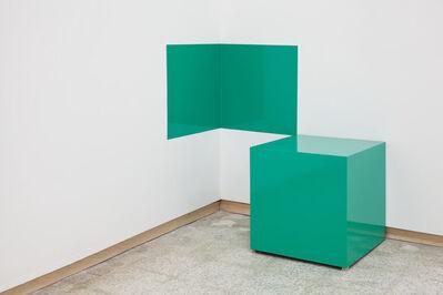 Karen Rifas, 'Green Cube', 2017