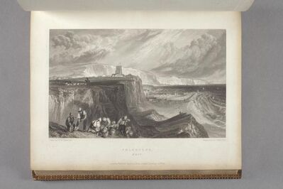 J. M. W. Turner, 'Folkstone, Kent As Bound In Picturesque Views on the Southern Coast of England', 1826