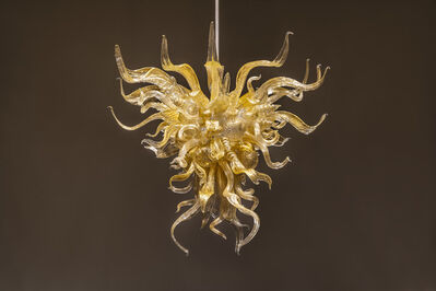 Dale Chihuly, 'Golden Ice Chandelier', 2019