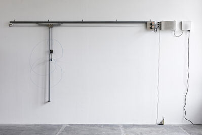 Angela Bulloch, 'Elliptical Song Drawing Machine: Richard Of York Gave Battle In Vain', 2018