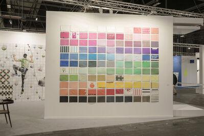Pepe López, 'Plastic bags color palette', 2020