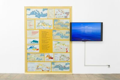 The Harrisons, 'Apologia Mediterraneo (Counter Extinction Work V)', 2019