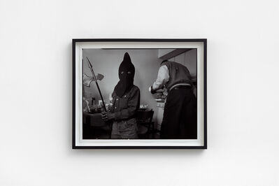 Mary Ellen Mark, 'Edward Simmons, Halloween, South Bronx H.E.L.P. Shelter, New York', 1993