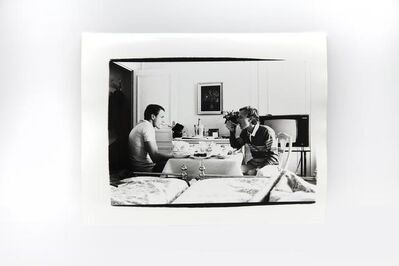 Andy Warhol, 'Jed Johnson and Thomas Ammann in Hotel Room, Monte Carlo', 1980