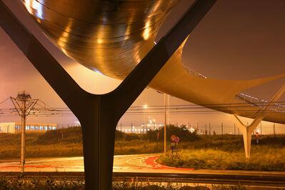 Toshio Shibata, 'De Lichtenlijn Footbridge, Knokke-Heist, Belgium', 2013