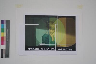 Peter Welz, 'Portrait #3 [screen-test | Monica Vitti | study]', 2017