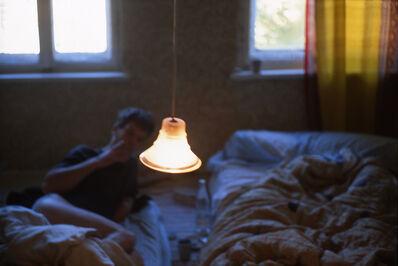 Nan Goldin, 'David in bed, Leipzig, Germany', 1992
