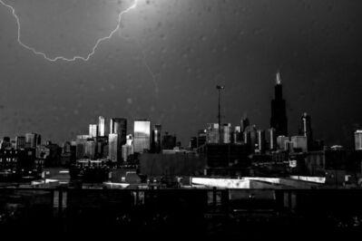 Kirill Polevoy, 'Lightning, Chicago', 2017