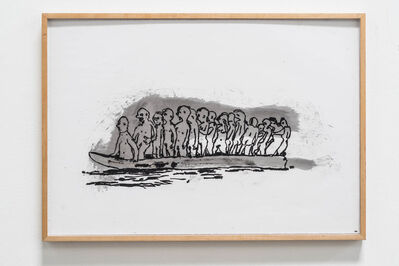 Kathleen Henderson, 'Man Boat', 2014