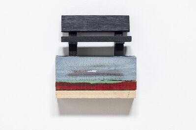 Alice Wilson, 'Indigo Bench', 2019