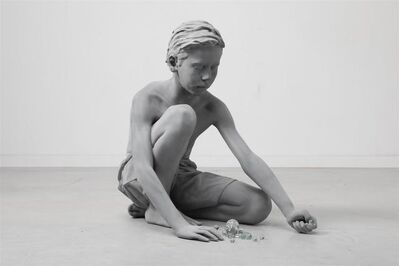 Hans Op de Beeck, 'Timo (Marbles)', 2018
