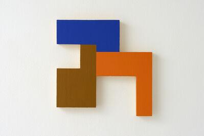 David Simpson, 'Eccentric polyplane #6 (Negative spaces)', 1984