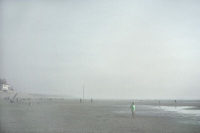 Harry Gruyaert, 'Fort Mahon Beach, Baie de Somme, France', 1991