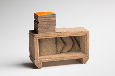 Nancy Pletos, 'Little Loching:Can Sand- AM Null/ Square', 1980