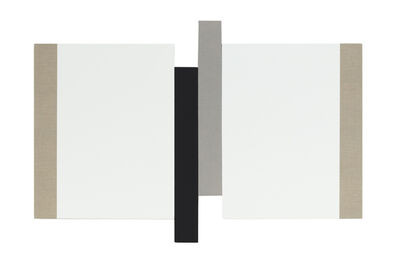 Scot Heywood, 'Transition - Canvas, White, Black, Gray', 2019