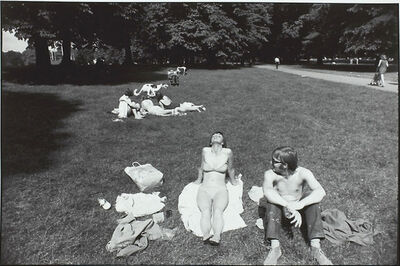 Garry Winogrand, 'Untitled From Women are Beautiful Portfolio (Woman Sunbathing in Central Park)', 1975-1981