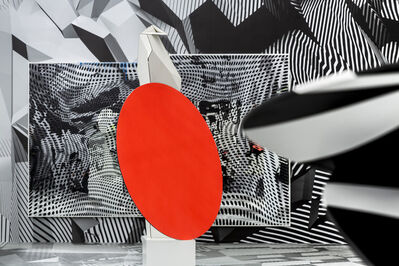 "Tobias Rehberger, 'Installation view, ""Tobias Rehberger. Home and Away and Outside"" at the Schirn Kunsthalle Frankfurt'"