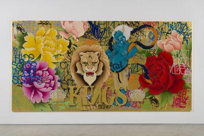 Gajin Fujita, 'Invincible Kings of This Mad Mad World', 2017