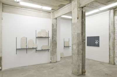 Fran Meana, 'Pensar bien y dibujar mal,installation view at NoguerasBlanchard, Madrid', 2014