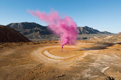 Isabelle & Alexis, 'Murcia - The origin of a pink cloud in an abandoned mine in Spain.', 2015