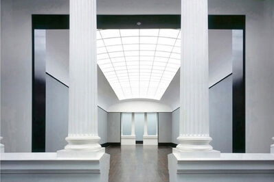 Reinhard Gorner, 'Hall with Columns, Old National Gallery, Berlin', 2001