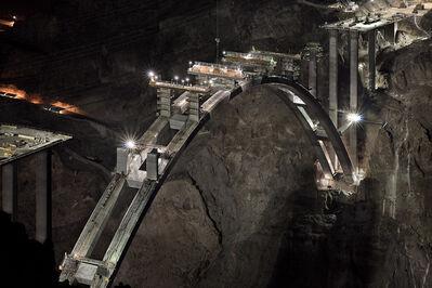Jamey Stillings, 'Pier Cap Construction, October 21, 2009', 2009