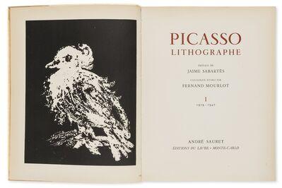 Pablo Picasso, 'Lithographie I-IV', 1949-1964