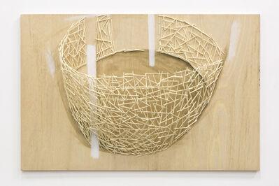 Tadashi Kawamata, 'Nest for Kamel Mennour study 1', 2017
