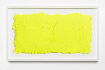 Shinro Ohtake, 'Yellow on Two Vinyls 1', 2015