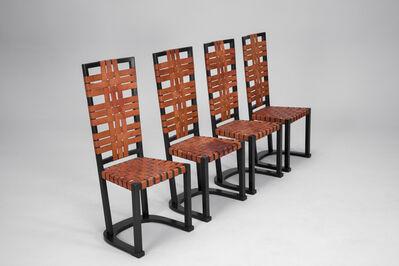 Axel Einar Hjorth, 'Set of Four Rare 'Futurum' Chairs', ca. 1928