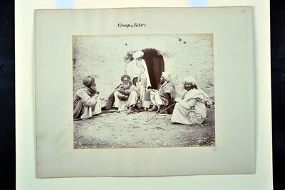 Benjamin Simpson, 'Group of Fakirs', 1880-1881