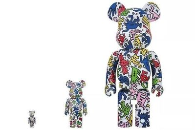 BE@RBRICK, 'BE@RBRICK KEITH HARING 1000%', 2018