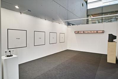 Timm Ulrichs, 'EINE TAUTOLOGIE IST EINE TAUTOLOGIE IST EINE ..., Hommage à Gertrude Stein', 1969
