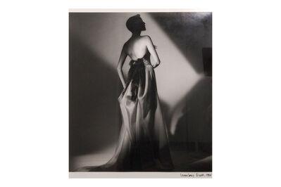 Jeanloup Sieff, 'Women In Black Dress', 1996