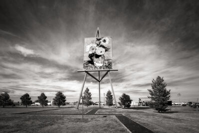 John Custodio, 'World's Largest Easel, Goodland, Kansas'