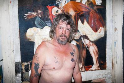 Jeff Bierk, 'Jimmy In My Kitchen, After Nick Bierk & Caravaggio, September 24, 2013', 2014
