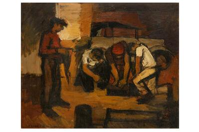 EDWARD MORLAND LEWIS, 'Men at work'
