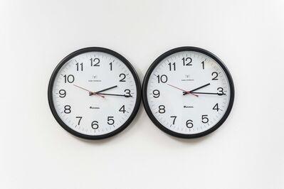 "Felix Gonzalez-Torres, '""Untitled"" (Perfect Lovers)', 1987-1990"