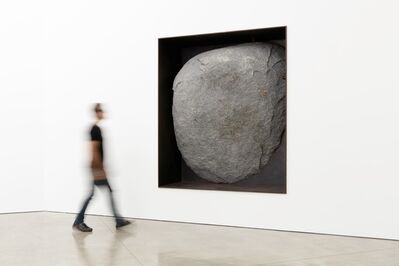 Michael Heizer, 'Black Diorite Negative Wall Sculpture', 1992-1994