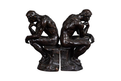 Pompeian Bronze Co., 'Pair of 1920's Bronze Bookends by Pompeian Bronze Co.', ca. 1920