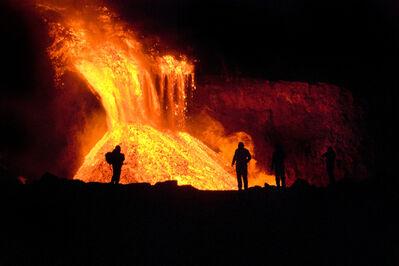 Johann Agust Hansen, 'Eyjafjallajokull Volcano', 2009