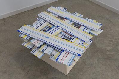 Arancha Goyeneche, 'Painting with pedestal #3', 2019