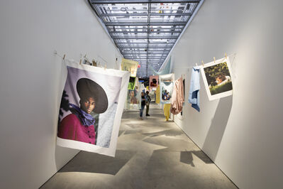 """Tyler Mitchell, '""""Tyler Mitchell: I Can Make You Feel Good"""" at the International Center of Photography', 2020"""