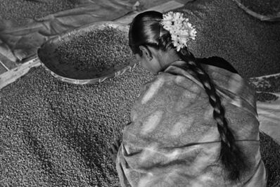 Sebastião Salgado, 'Workers at Allana Coffee Curing Works.  Karnataka State, India', 2003