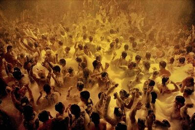 David Alan Harvey, 'Soap suds party ', 1991