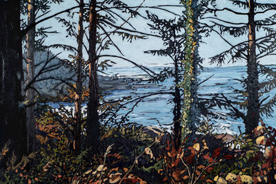 Deb Komitor, 'Where the Forest Meets the Sea', 2016